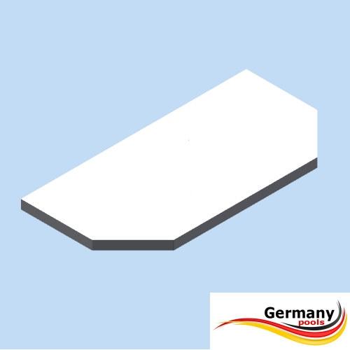 Abdeckplattformen Sitzbohlen Achtformpool Typ:ProLine Germany-Pools