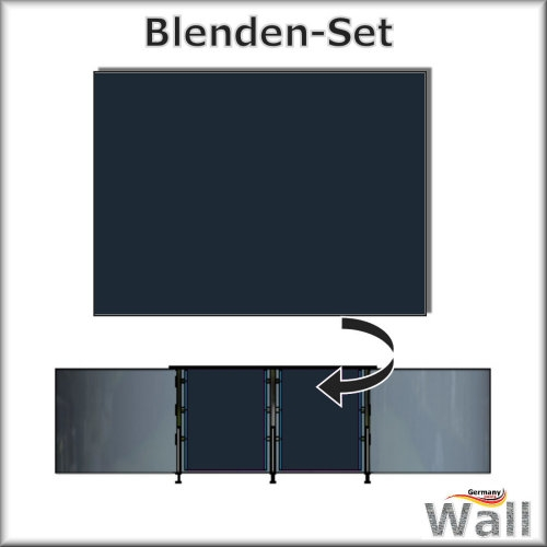 Germany-Pools Wall Blende A Tiefe 1,25 m Edition Poseidon