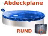 2,0 - 2,5 m Pool Abdeckplane Poolabdeckung 250 Winterplane rund 2,5
