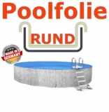 3,50 x 1,20 m x 0,8 mm Poolfolie Sandfarben Einhängebiese Sand