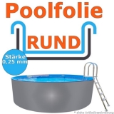 4,60 x 1,10 m x 0,25 mm Poolfolie Schwimmbadfolie 460 x 110 Pool Innenfolie