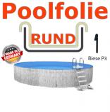 Schwimmbadfolie 350 x 150 cm x 0,8 Keilbiese Sand