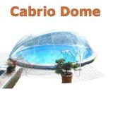 6,00 m Poolabdeckung Cabrio-Dome