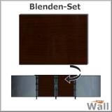 Germany-Pools Wall Blende B Tiefe 1,20 m Edition Dark-Wood