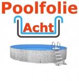 Poolfolie acht 7,25 x 4,60 x 1,20 m x 1,0 Folie Ersatz