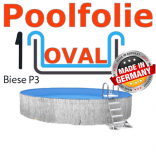 Poolfolie oval 6,00 x 3,20 x 1,20 x 1,0 Folie Ersatz Ovalbecken