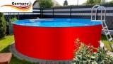 250 x 125 cm Aufstellpool Set