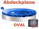 Ovalbecken Stein 8,7 x 4,0 x 1,20 m Komplettset