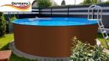 640 x 125 cm Stahl-Pool Set