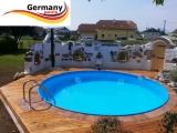7,00 m Pool Randsteine Rundbecken Rundpool Beckenrandsteine