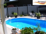 6,00 x 3,20 x 1,35 m Schwimmbecken