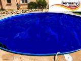 8,50 x 4,90 m Solarplane pool oval 850 x 490 cm Solarfolie
